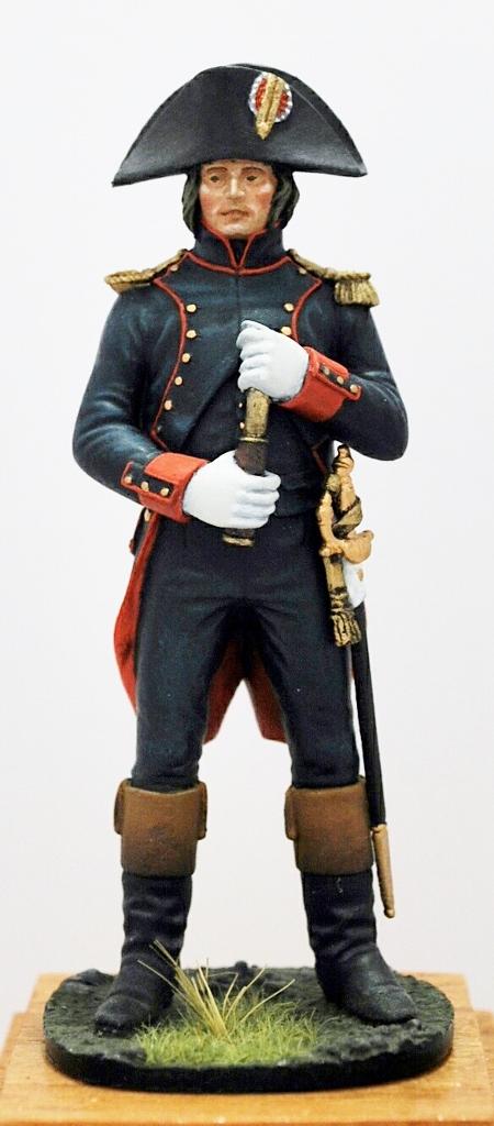 Bonaparte-Officier-dArtillerie-siége-de-Toulon-1793-Metal-Modeles-54mm
