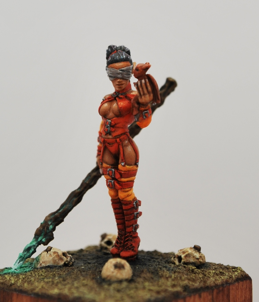 Darl-Elf-Sorceress-Freeboter-Miniatures-30mm