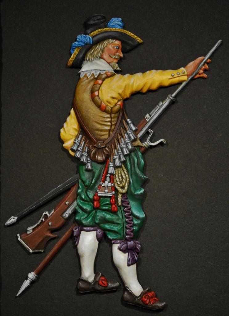 Dutch-Musketeer-ca.-1610-G-M-Miniatures-110mm