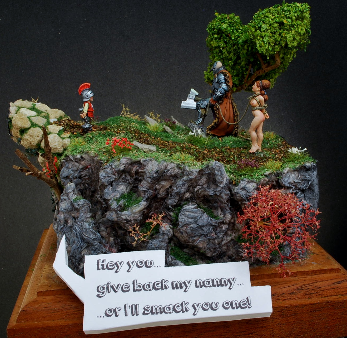 Give-back-my-nanny-Hasslefree-Miniatures-32mm-1