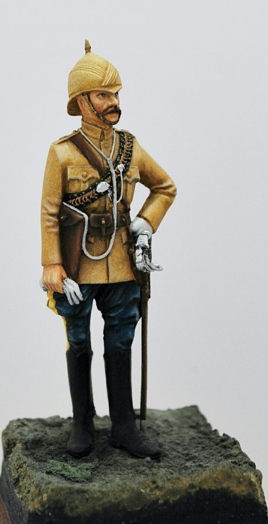 Officer-10-th.-Hussars-Afghanistan-1878-Chota-Sahib-54mm