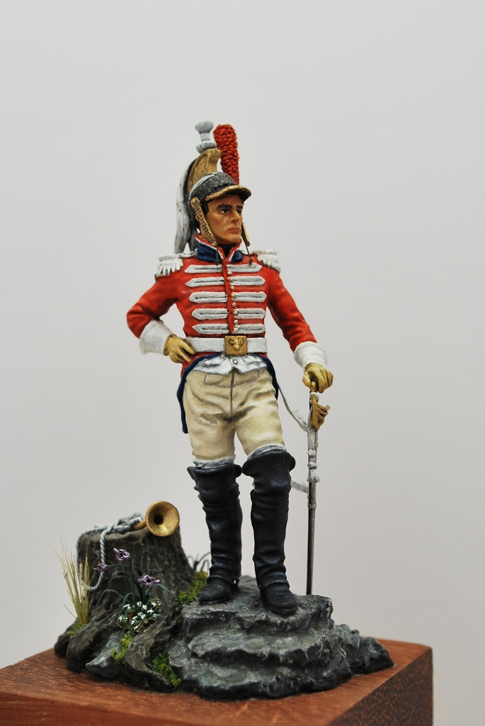 Trompeter-1-st.-Cuirassiers-1809-1812-Andrea-Miniatures-54mm