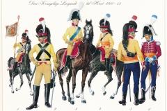 1800-13-Den-Kongelige-Livgarde-til-Hest