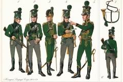 1801-09-Kongens-Livjægerkorps