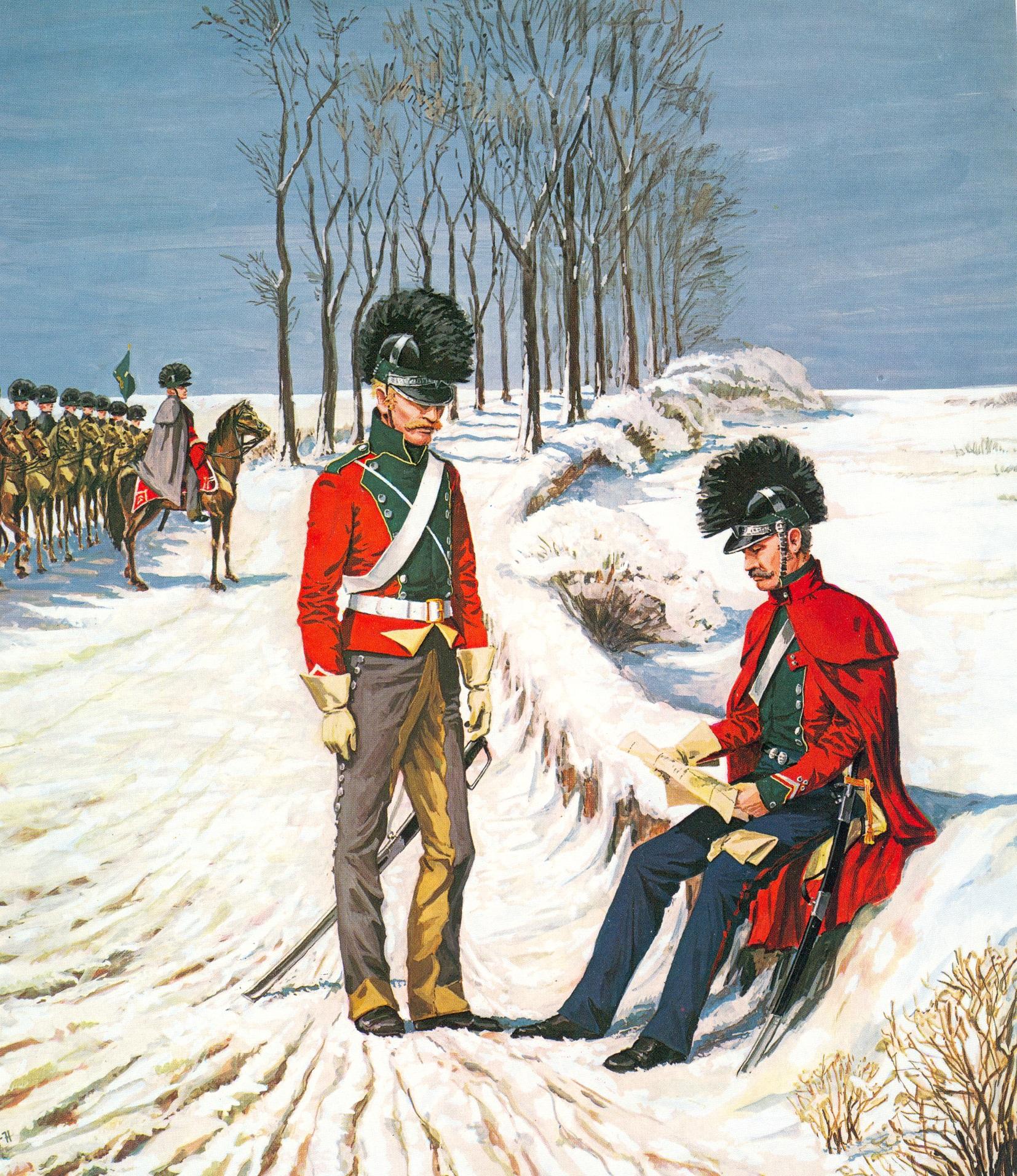 Jydske-regiment-lette-dragoner-1813-2
