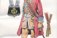 Officer-Grenaderkorpset-ca.-1760