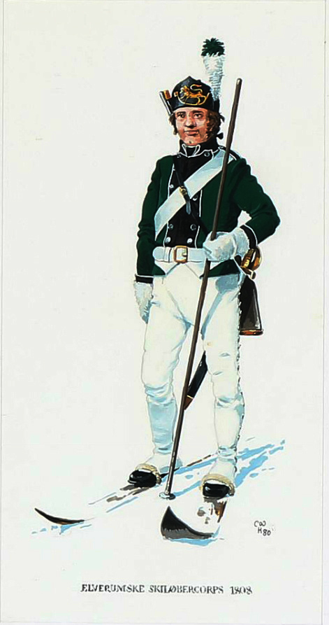 1808-Elverumske-skiløberkorps