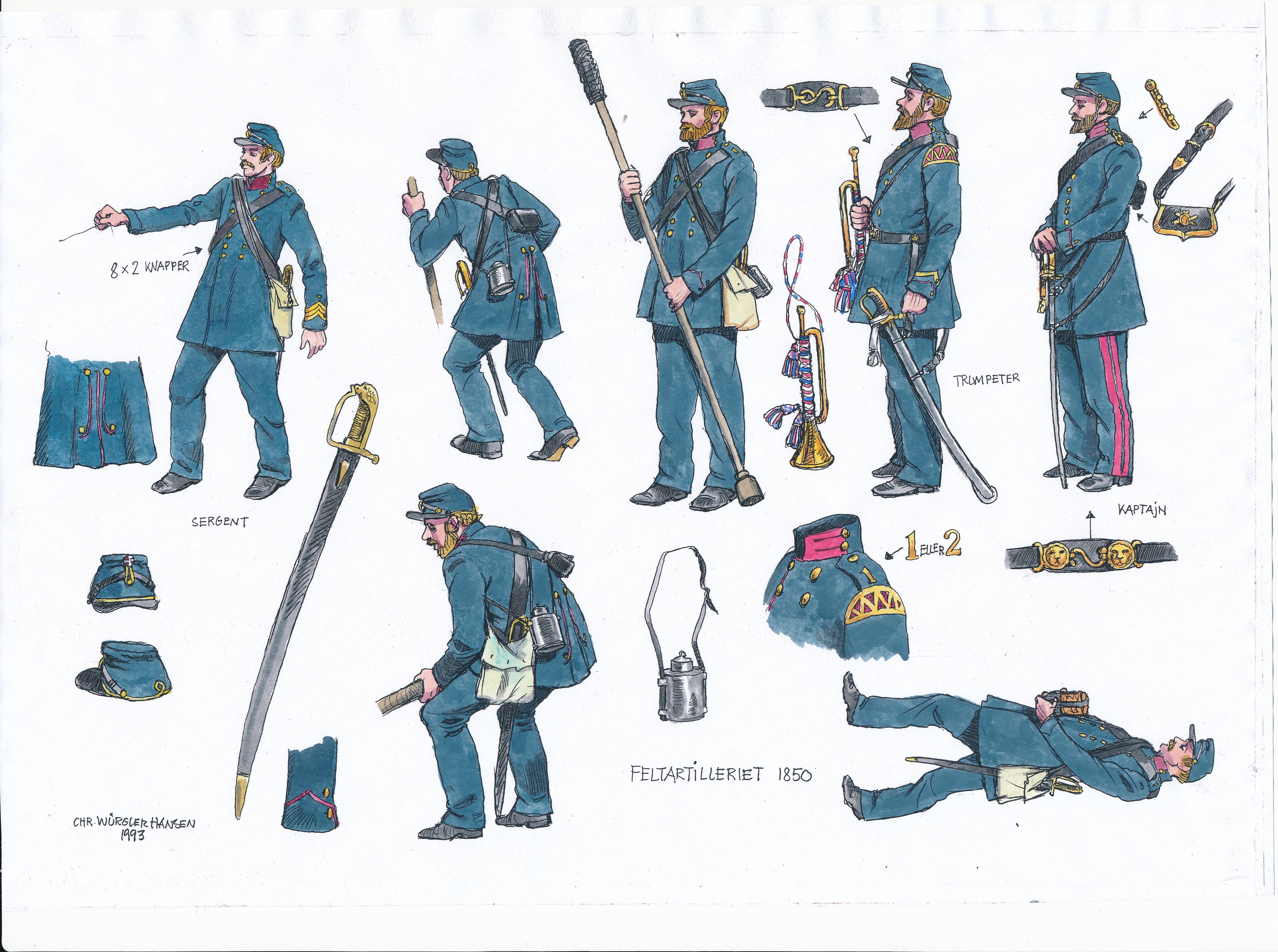 Feltartilleriet-1850