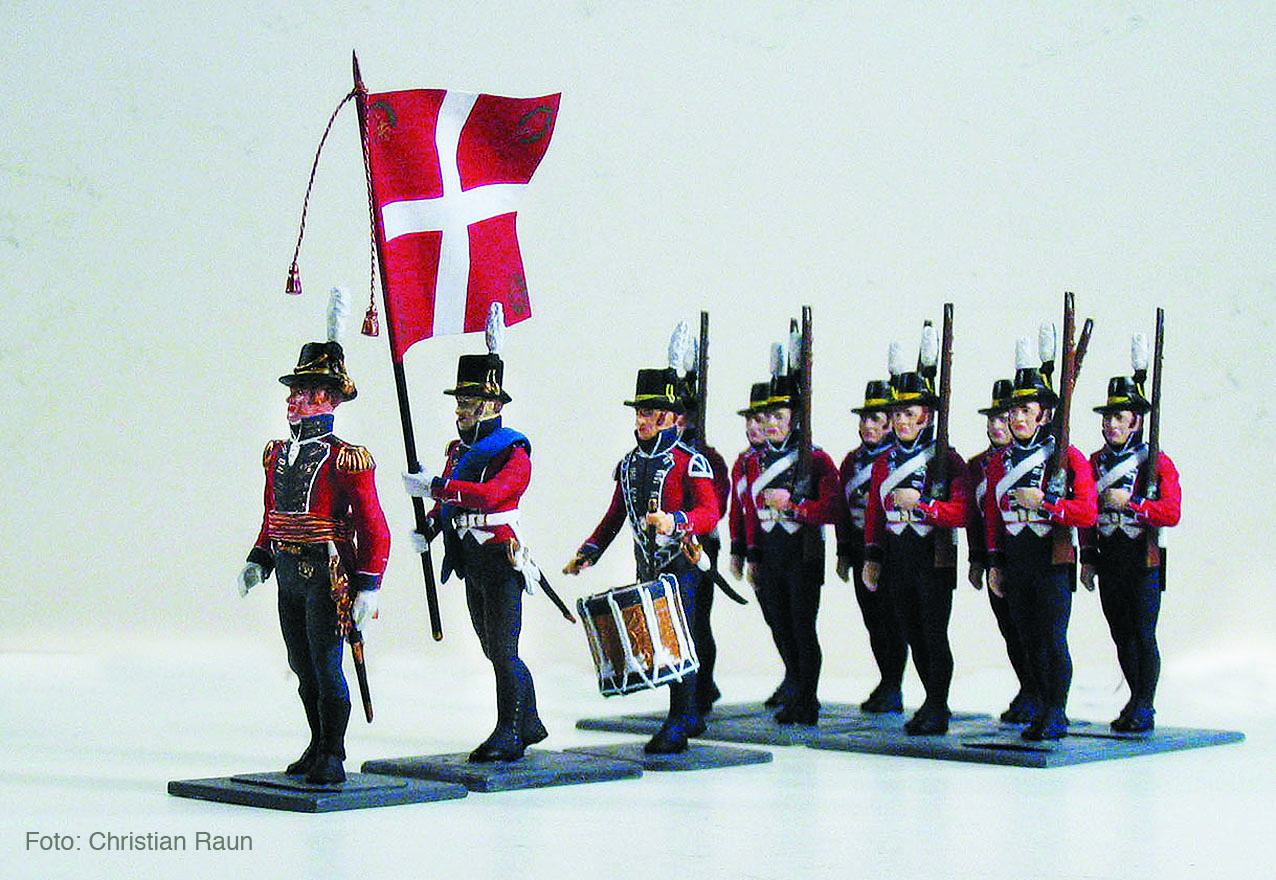 Danmark 1807, Marineregimentet