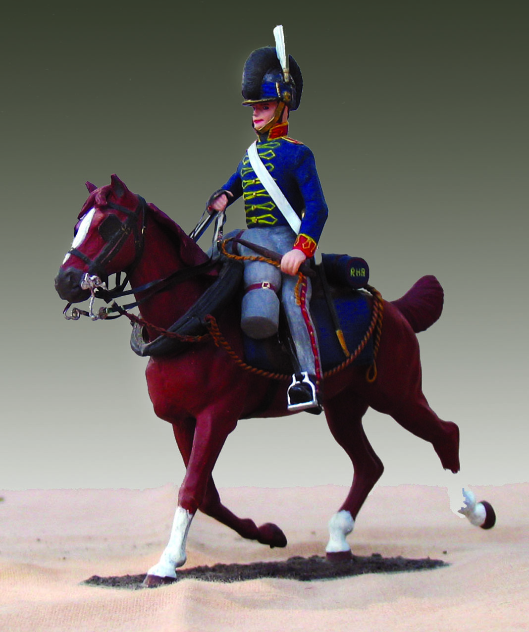 Storbritannien 1807, Royal Horse Artillery, Artillerist