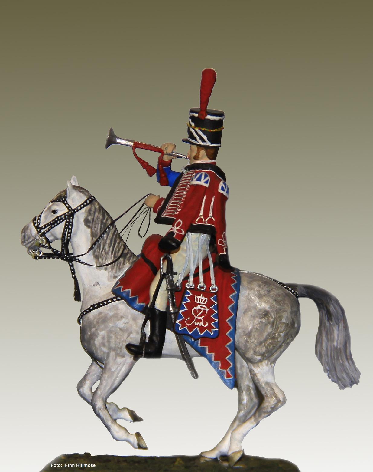 1810-Danmark-Husarregimentet-trompeter