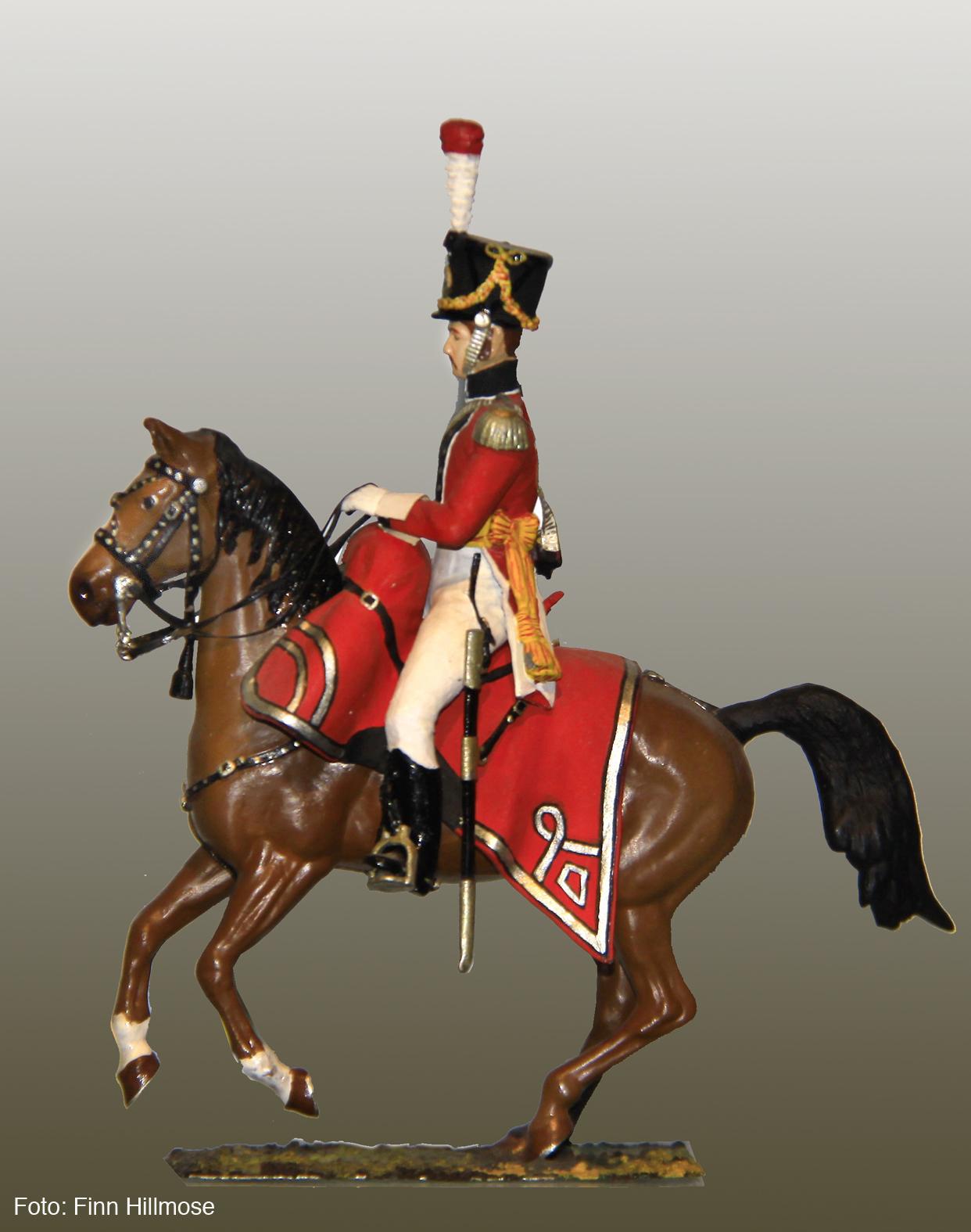1813-Danmark-Sjællandske-Rytter-Regiment-Officer