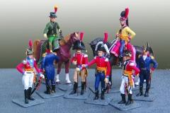 Danmark 1807, Generalmajor H.E. von Peymans stab