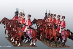 1810-Danmark-Husarregimentet-husarer