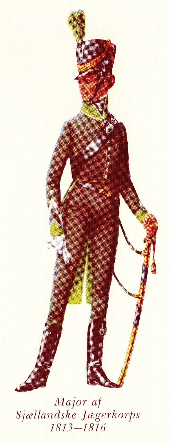Nr.-3c-Major-af-Sjællandske-Jægerkorps-1813-1816
