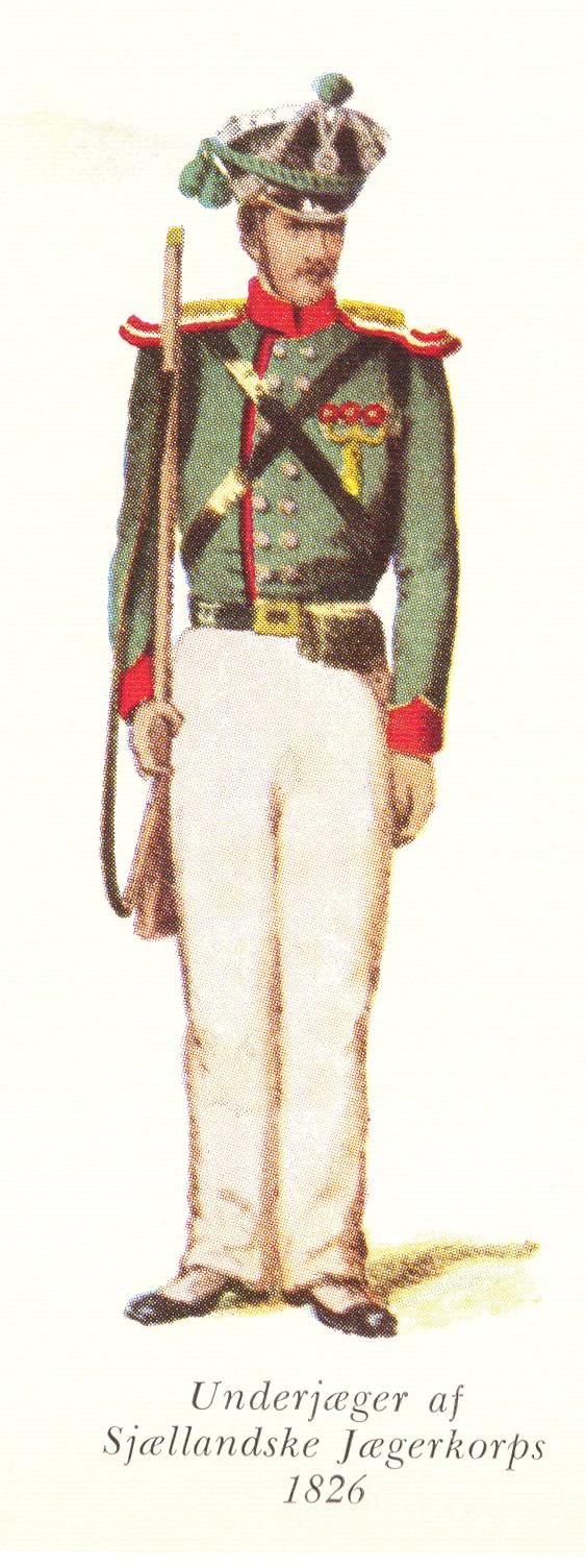 Nr.-4b-Underjæger-af-Sjællandske-Jægerkorps-1826