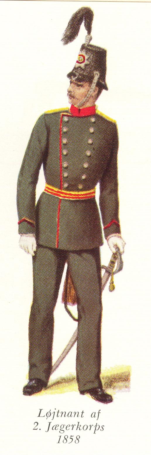 Nr.-5a-Løjtnant-af-2.-Jægerkorps-1858