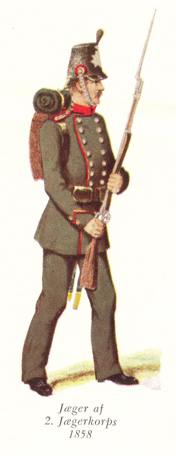 Nr.-5b-Jæger-af-2.-Jægerkorps-1858