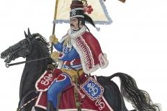 Husarregimentet 1. eskadron, estandard 1762