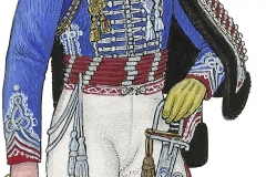 Husarregimentet, officer 1807