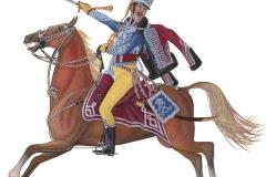 Huusarregimentet, løjtnant 1812