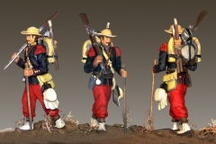 1863-Fransk-legionaer-Mexico