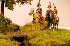Spaniere i Roskilde 1807 (2) – Romano med adjudanter