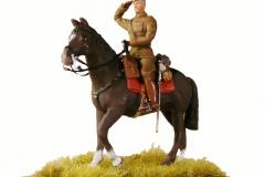 Dansk officer til hest 1930 (1)