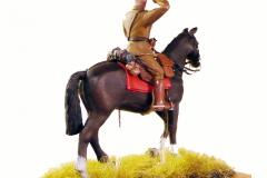 Dansk officer til hest 1930 (2)