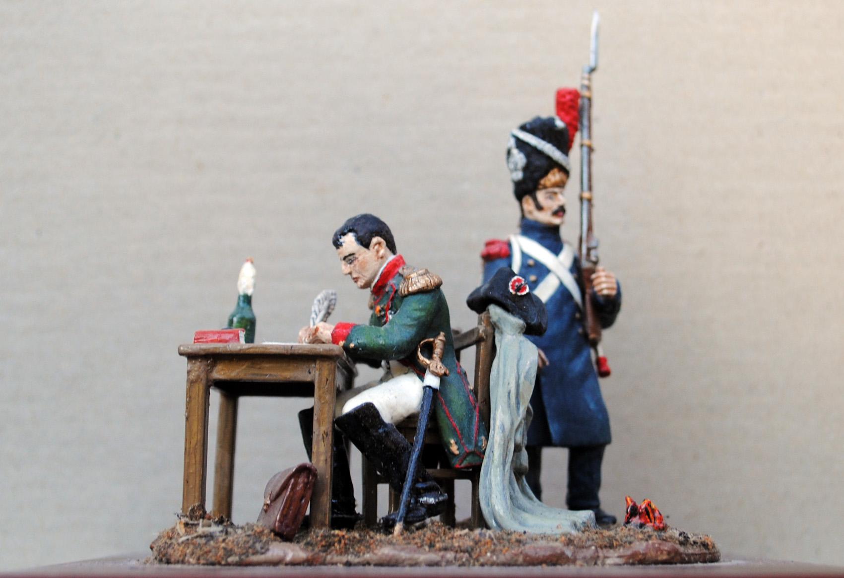 1803-Napoleon-med-Gardegrenader-