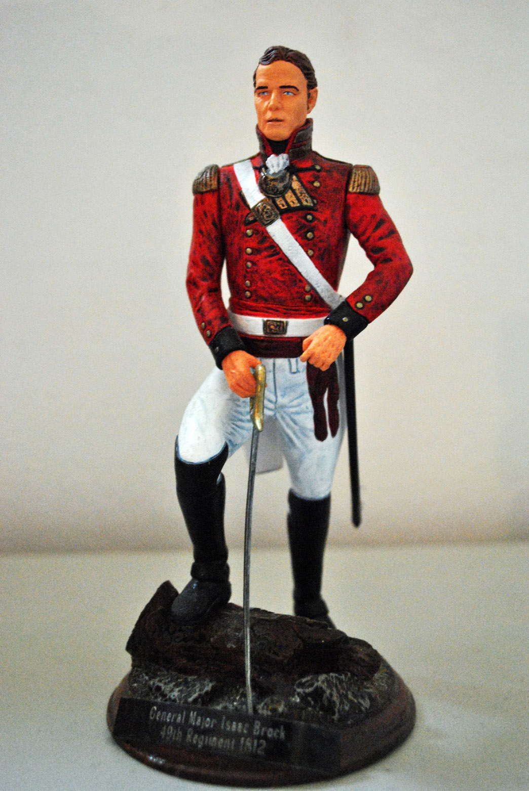 1812-Gen.Major-Isaac-Brock.-49th-Regiment.-Canada