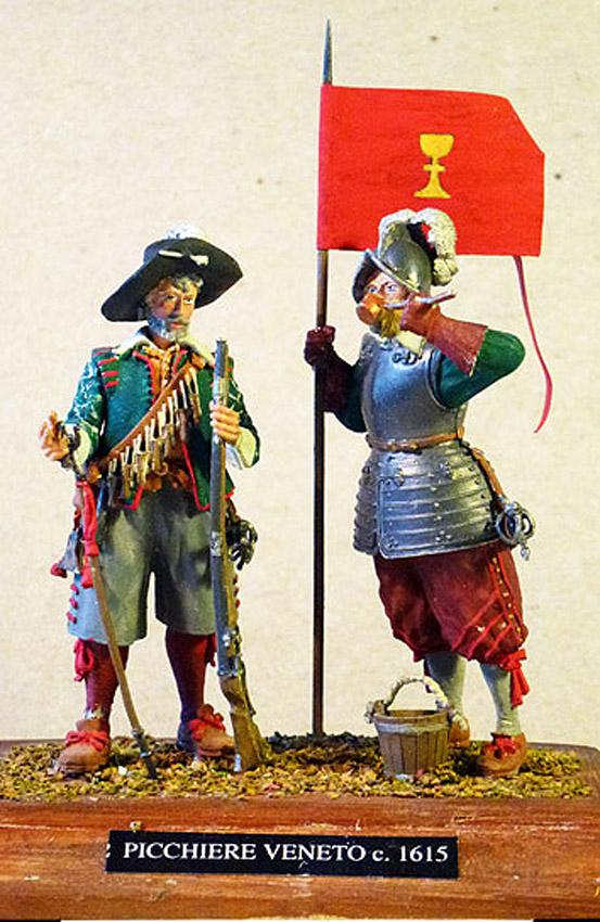 1615-Italien-Veneto-Musketer-og-Pikener-