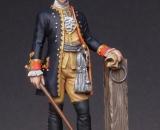 1757-Prøjsen.-Infanteriofficer