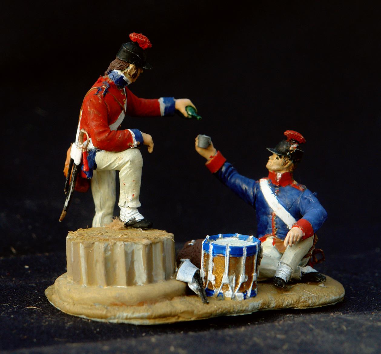 1798-Fransk-infanteri-Ægypten