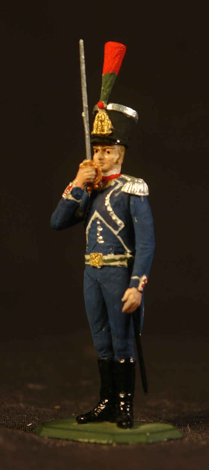 1808-12-Fransk-officer-i-et-Carabinier-Kompagni-i-et-Let-infanteri-regiment