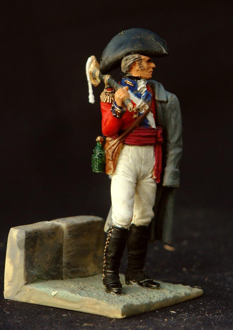 1808-14-Engelsk-officer-i-Spanien-
