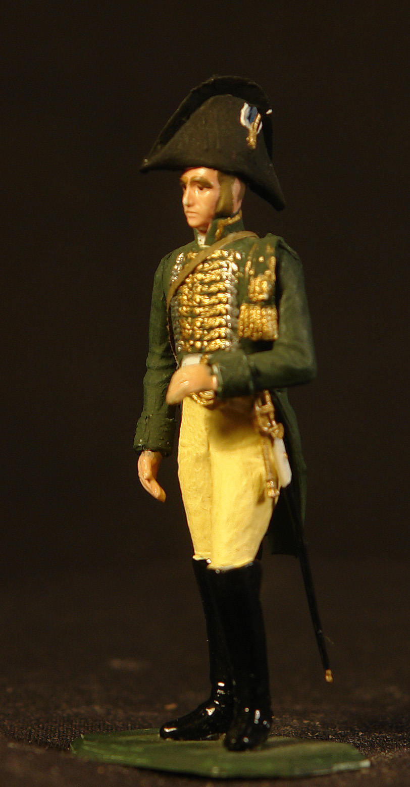 1808-Fransk-ordonans-officer-i-den-Kejserlige-garde