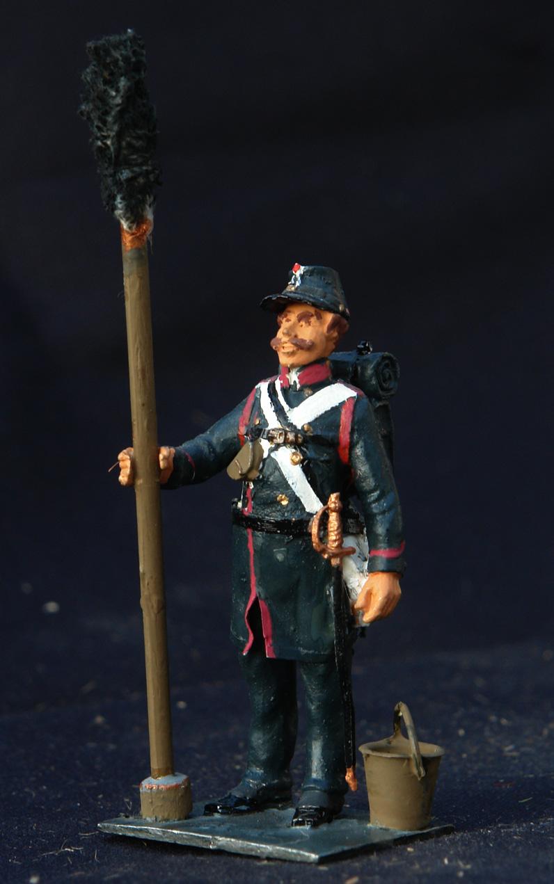 1850-Dansk-Artillerist