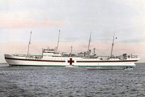 Hospitalsskibet Jutlandia. Dansk Sygeplejehistorisk Museum.