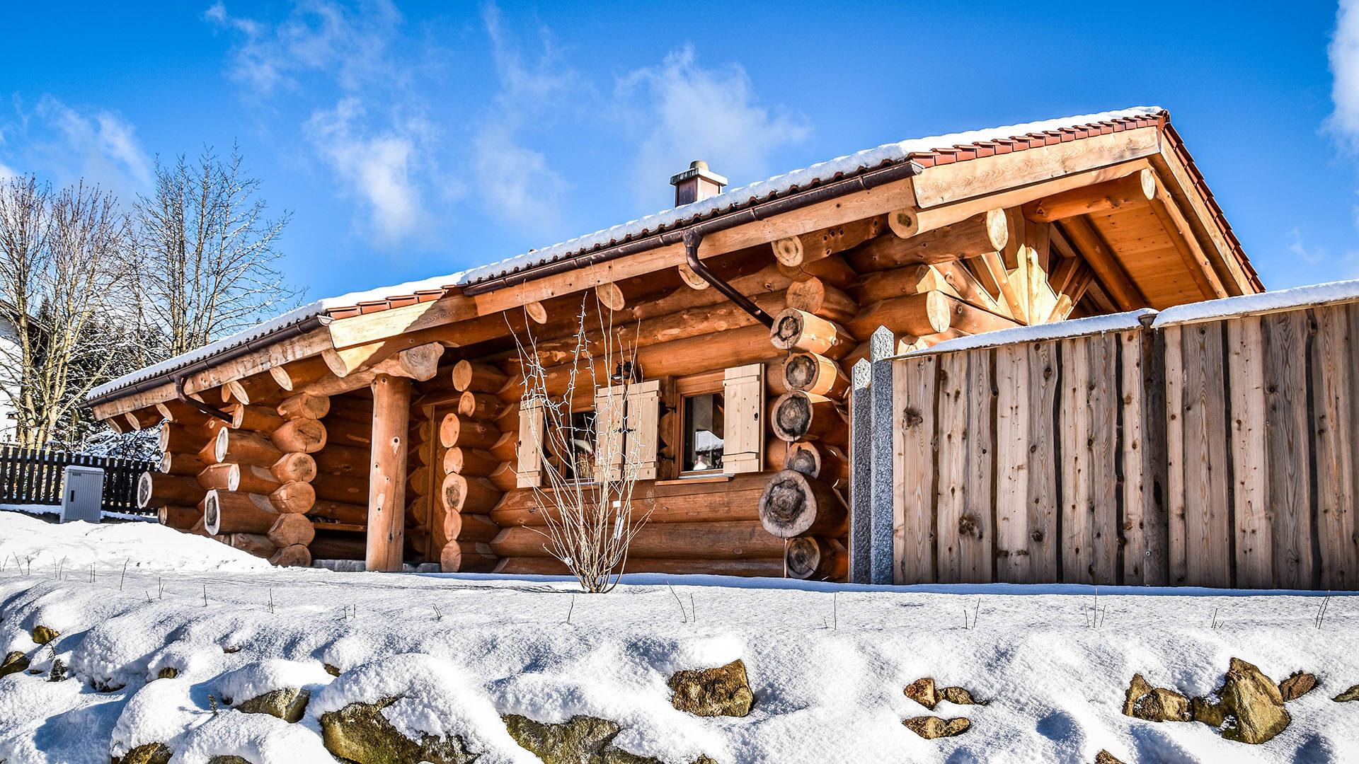Chalet Enzian Bayerwald Urlaub Tourismus Bayerischer Wald Wellness