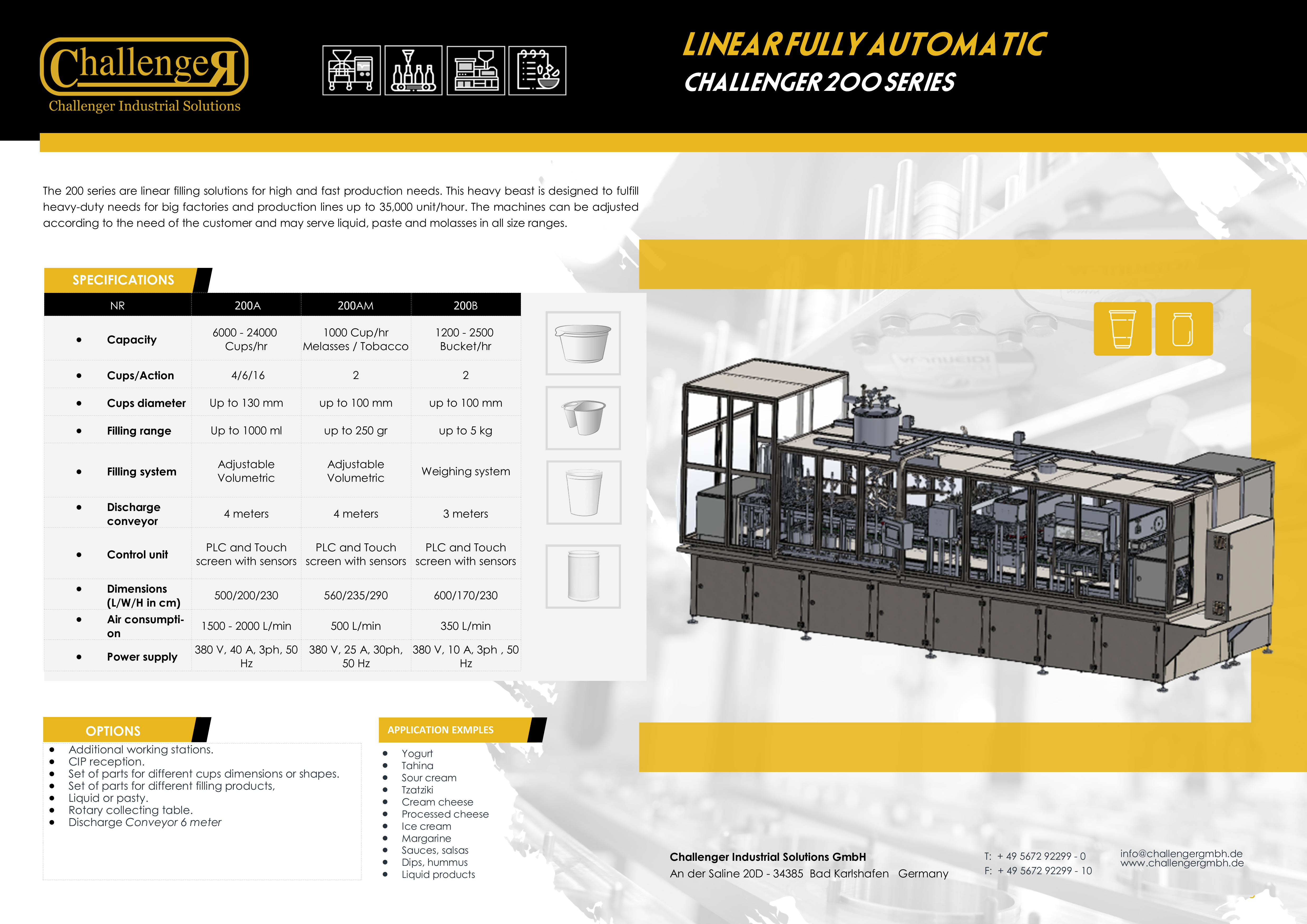 LINEAR FULLY AUTOMATIC one page