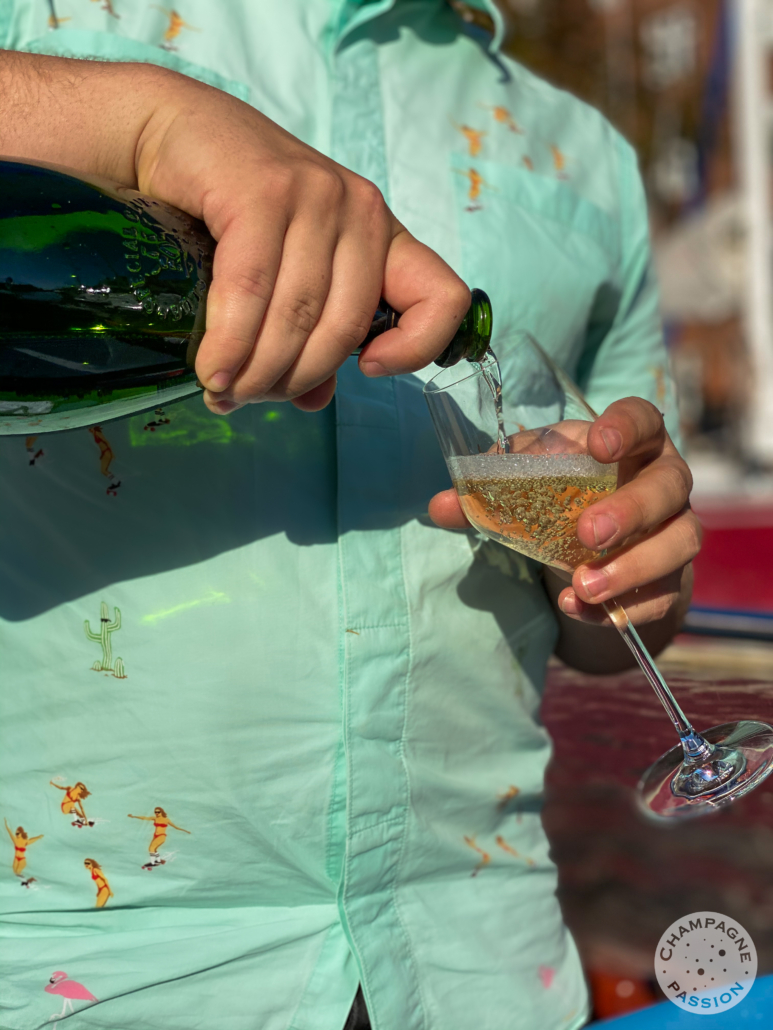 champagne, skænket, champagne cruise, champagne events