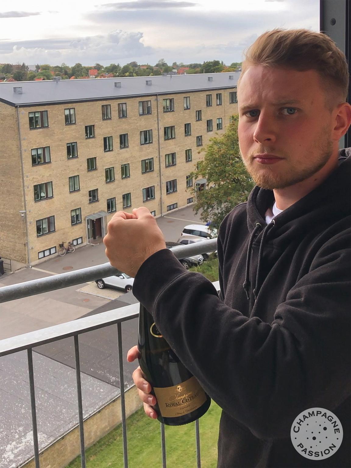 rasmus, champagne, studerende