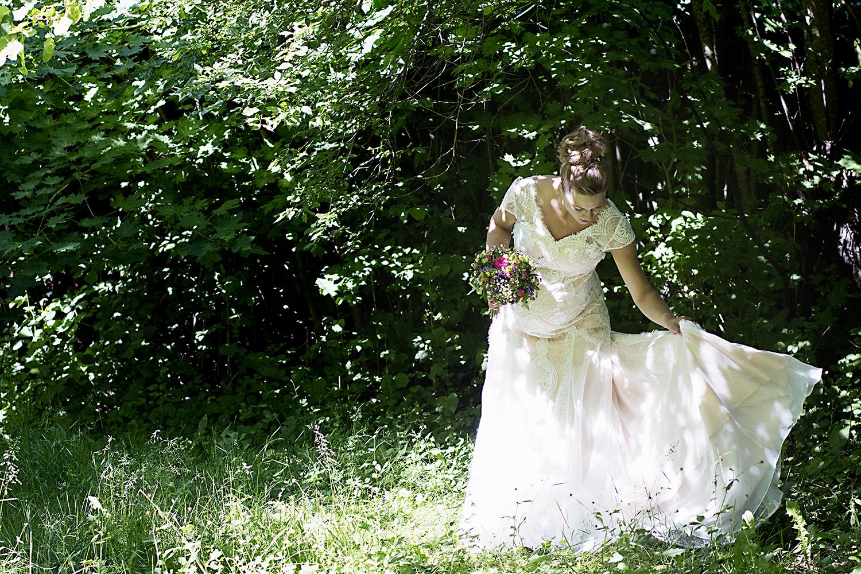 Charlottes brudekjole