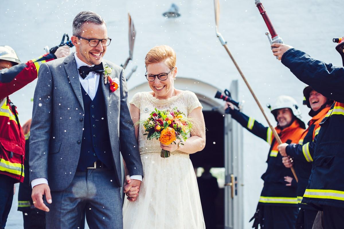 Saras brudekjole
