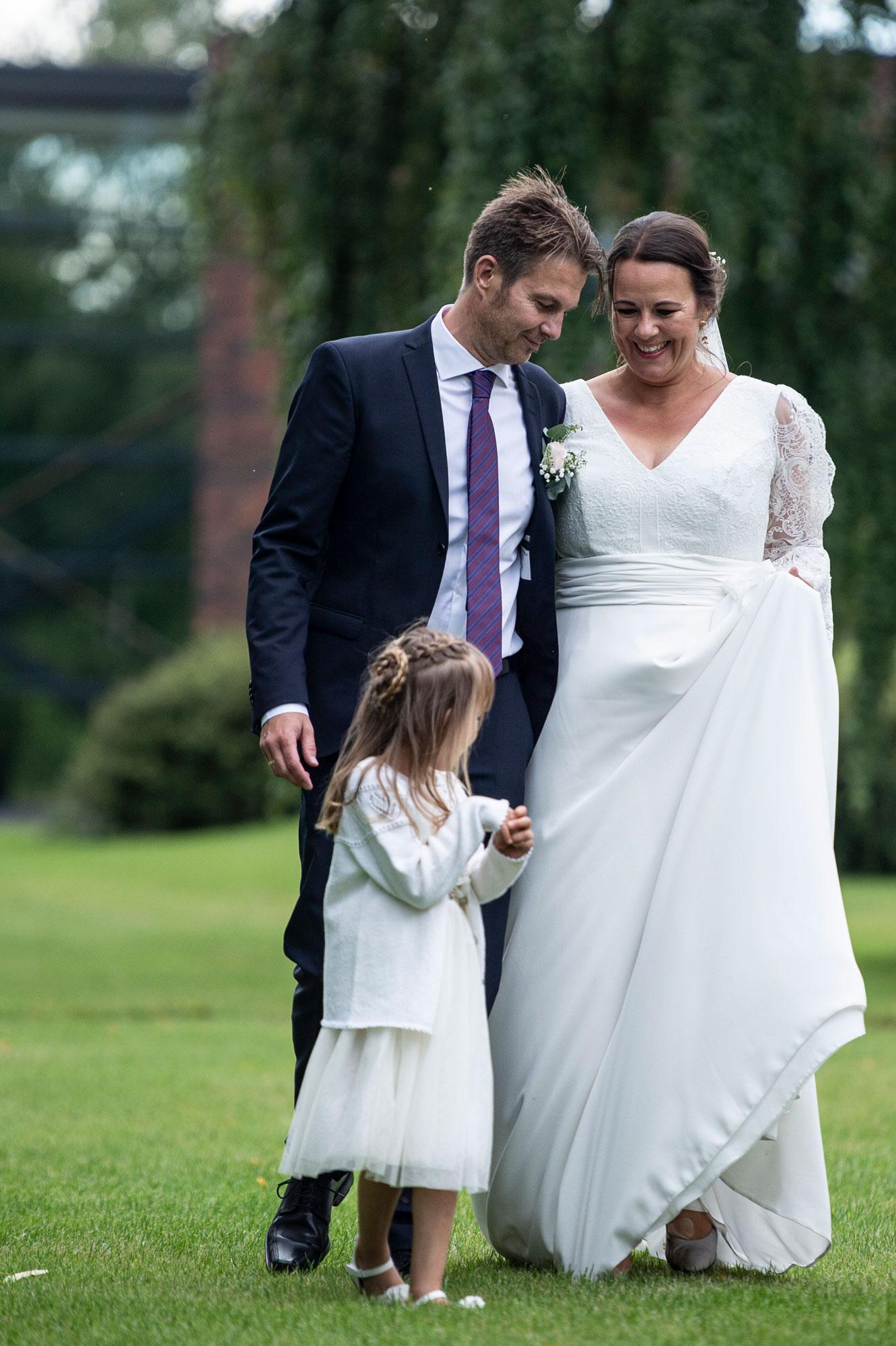 Louises brudekjole