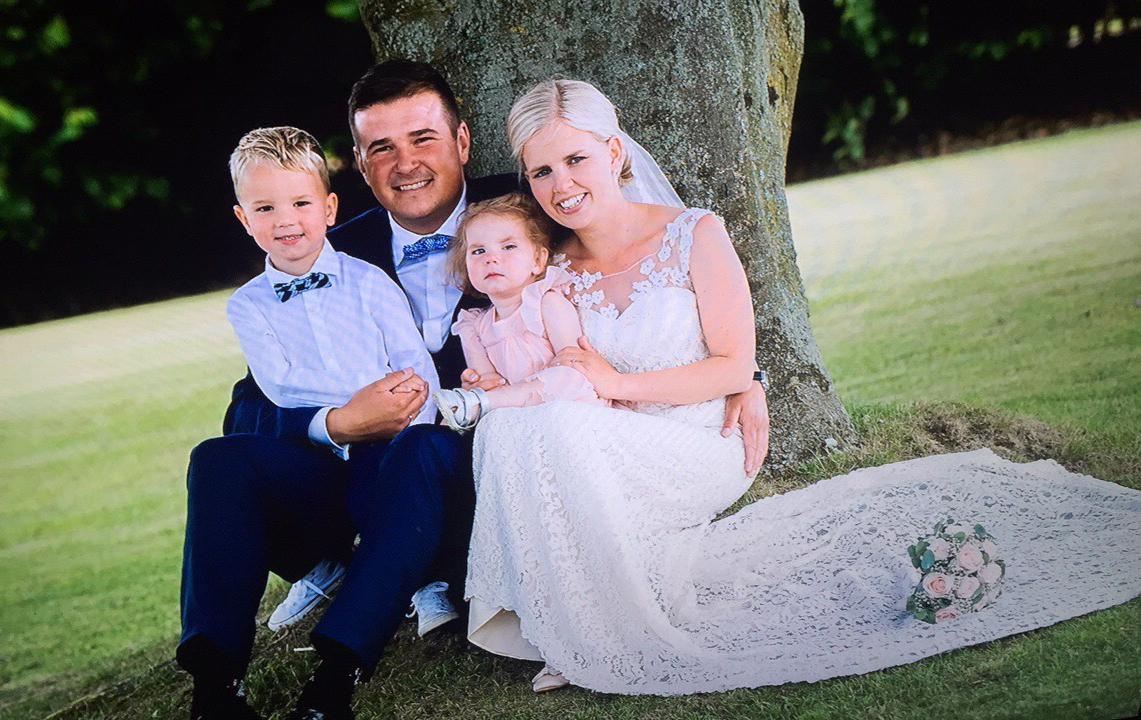 Katrine Klaja Schmidts bryllupsfoto