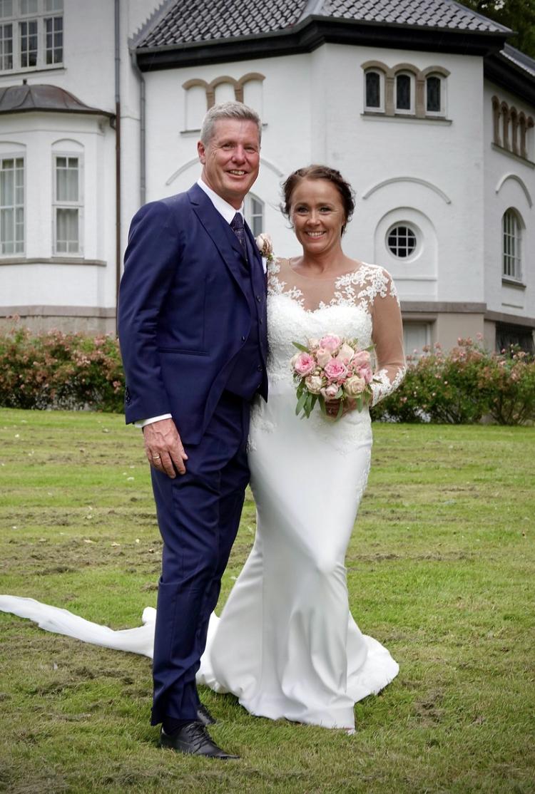 Tinas brudekjole - Chanelladreams