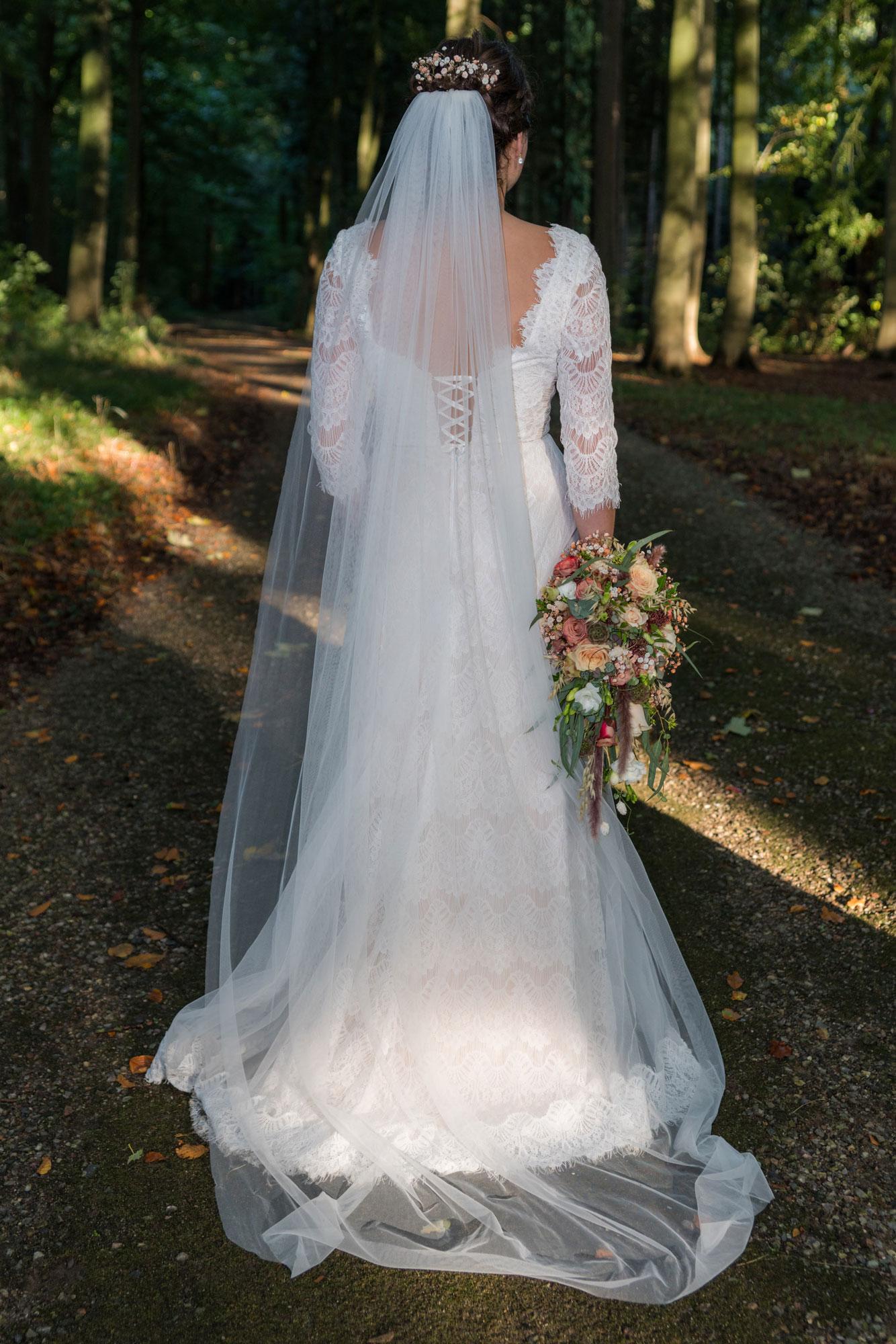 Pernille Bangs brudekjole fra Chanelladreams