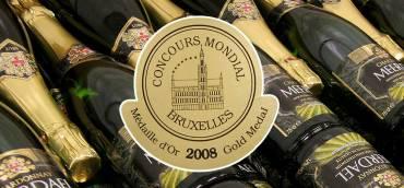 Gouden medaille op Concours Mondial 2008